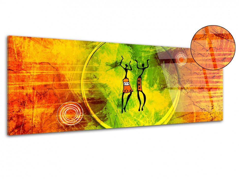 Tableau plexiglas décoration Africaine