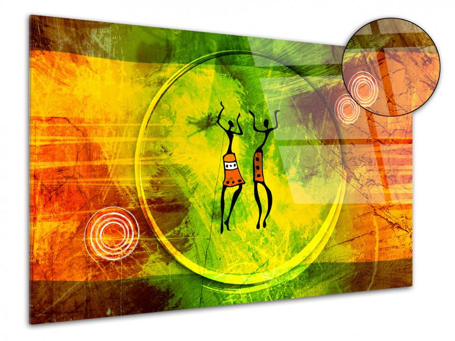 Tableau plexiglas décorative style Africain