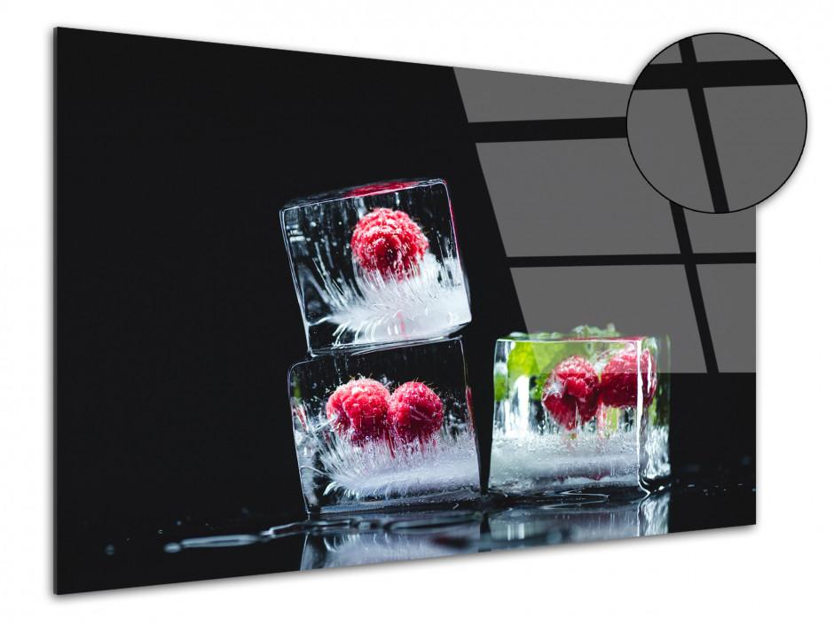 Tableau plexiglas décoratif Les Glaçons de Fruits rouges