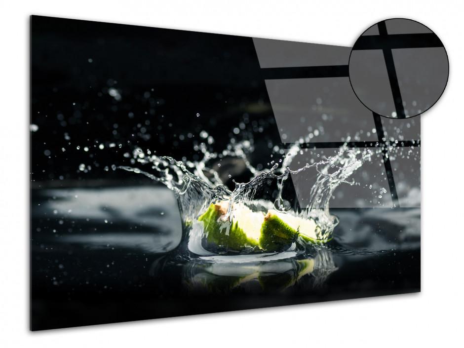 Tableau plexiglas deco photo Citron Vert
