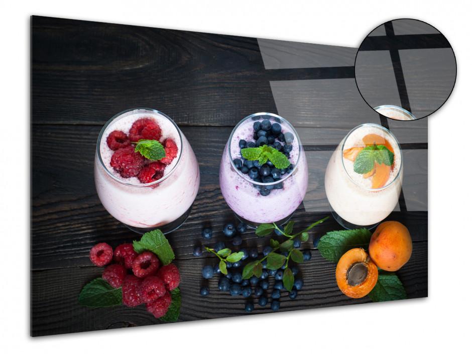 Tableau plexiglas deco Yahourt aux Fruits