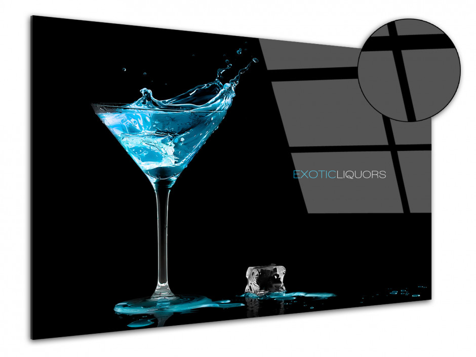 Cadre plexiglas décoratif Exotic Liquors