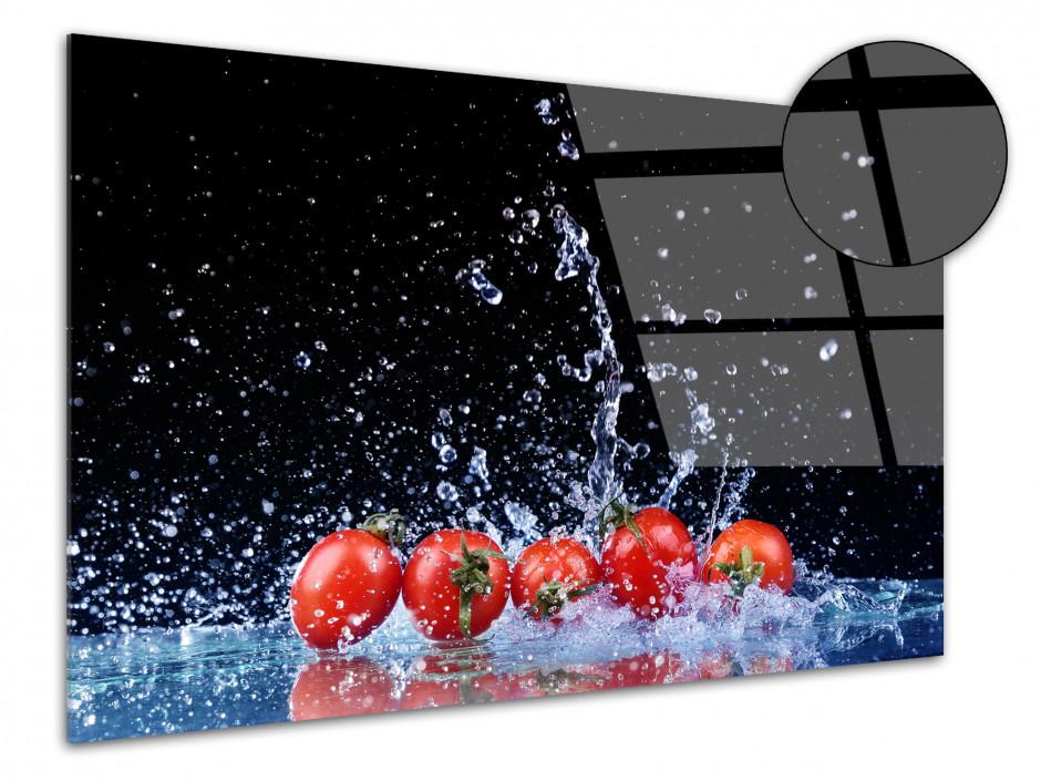 Cadre plexiglas déco cuisine Les Tomates