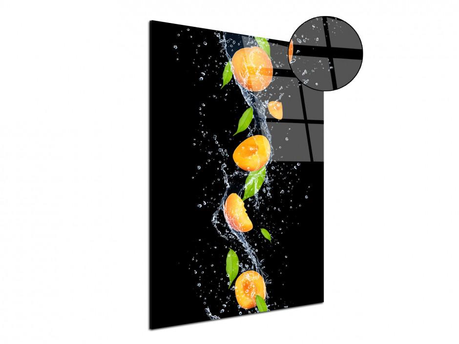 Tableau plexiglas décoratif Les Abricots
