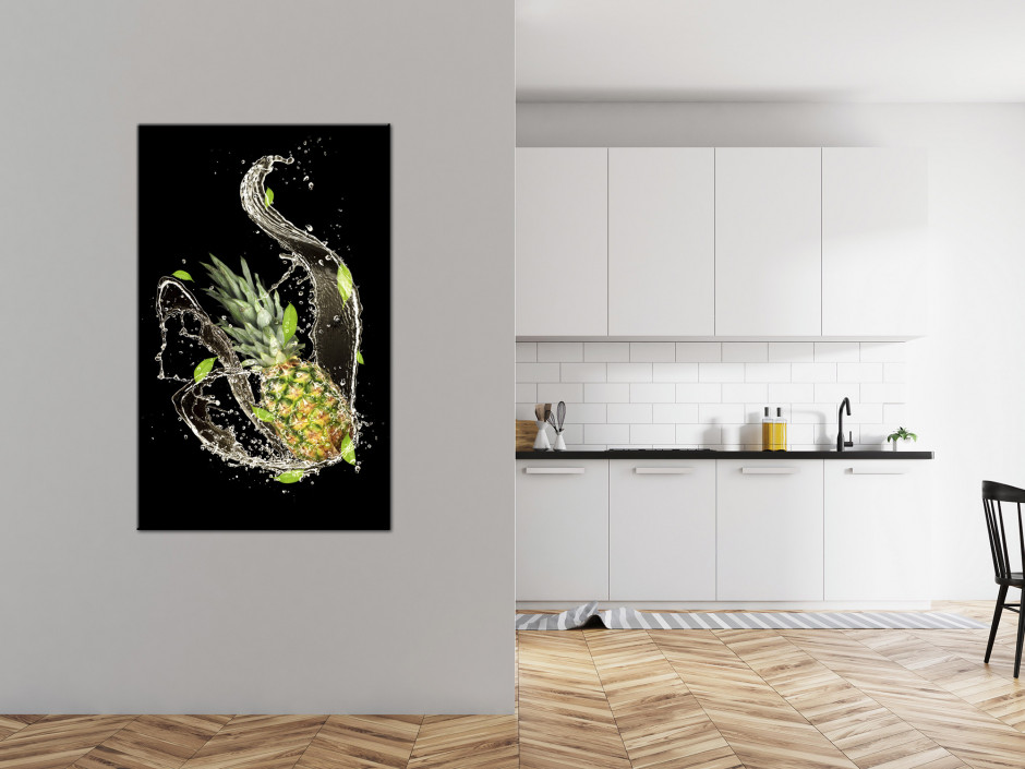 Tableau plexiglas déco photo L'Ananas