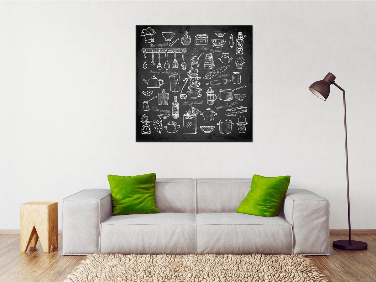 Cadre déco cuisine original - Vente en ligne de tableau décoratif
