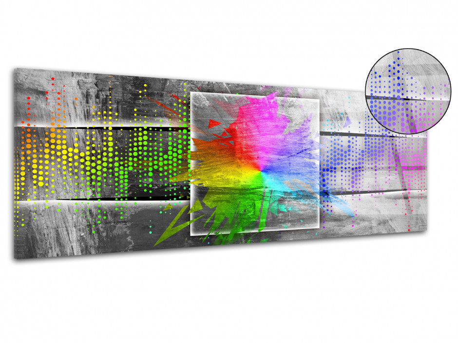 Tableau plexiglas moderne Spectre de lumière
