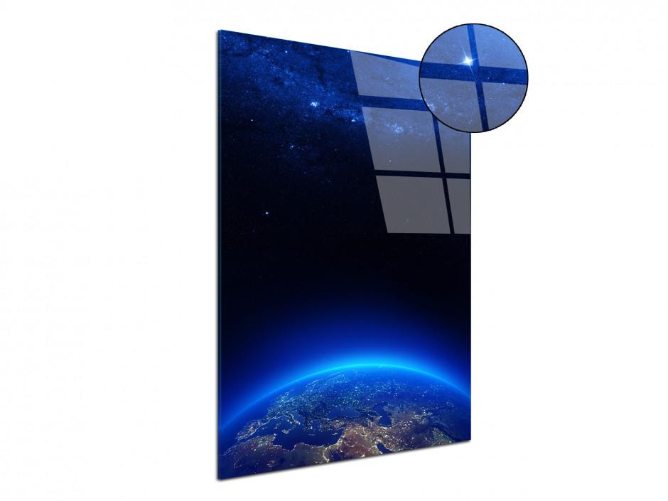 Tableau plexiglas deco La Terre vu du ciel