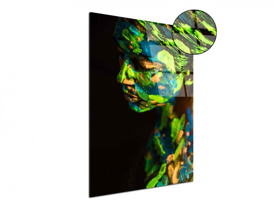 Tableau plexiglas design moderne Femme Peinture