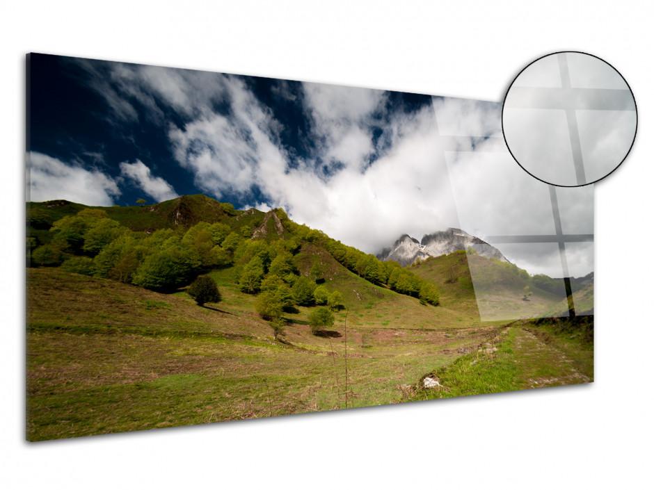 Tableau plexiglas montagne VALLEE D'ASPE
