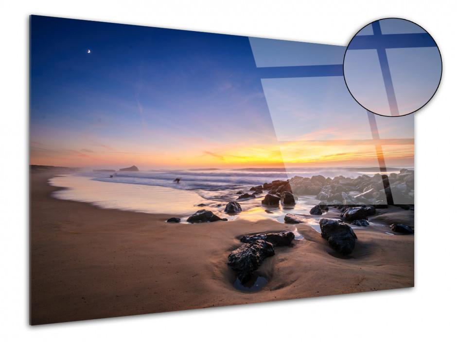 Tableau plexiglas photo PLAGE DE CAPBRETON