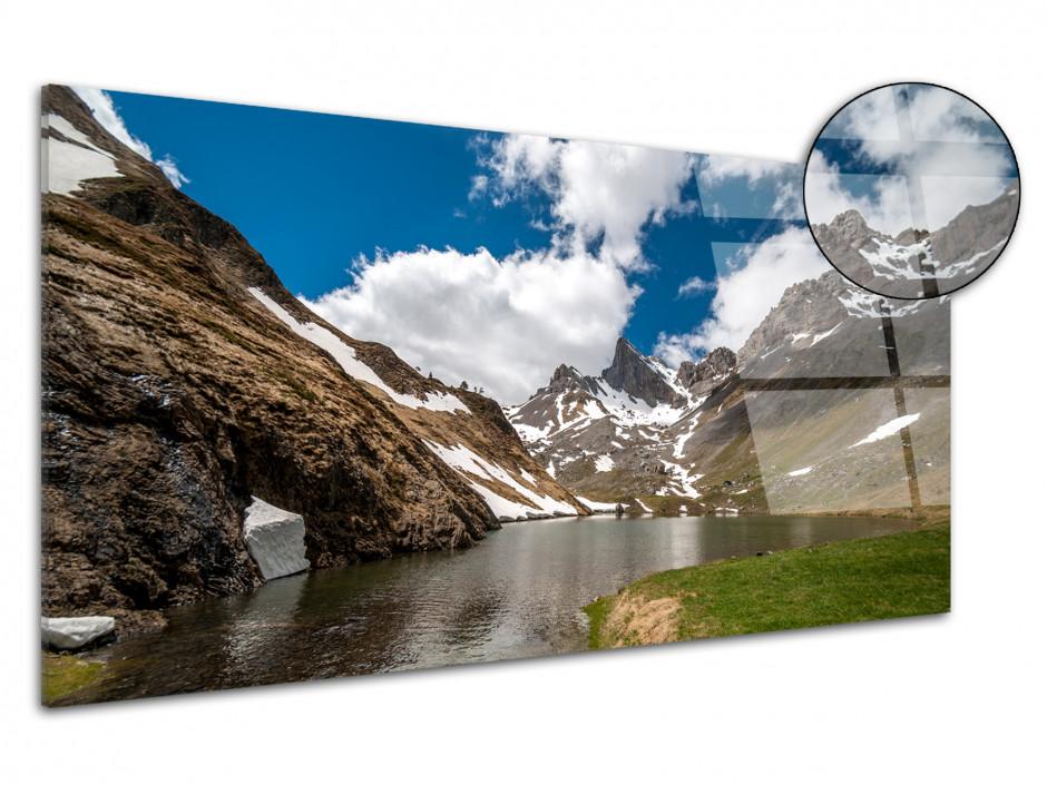 Tableau plexiglas panoramique sur le LAC DE LHURS