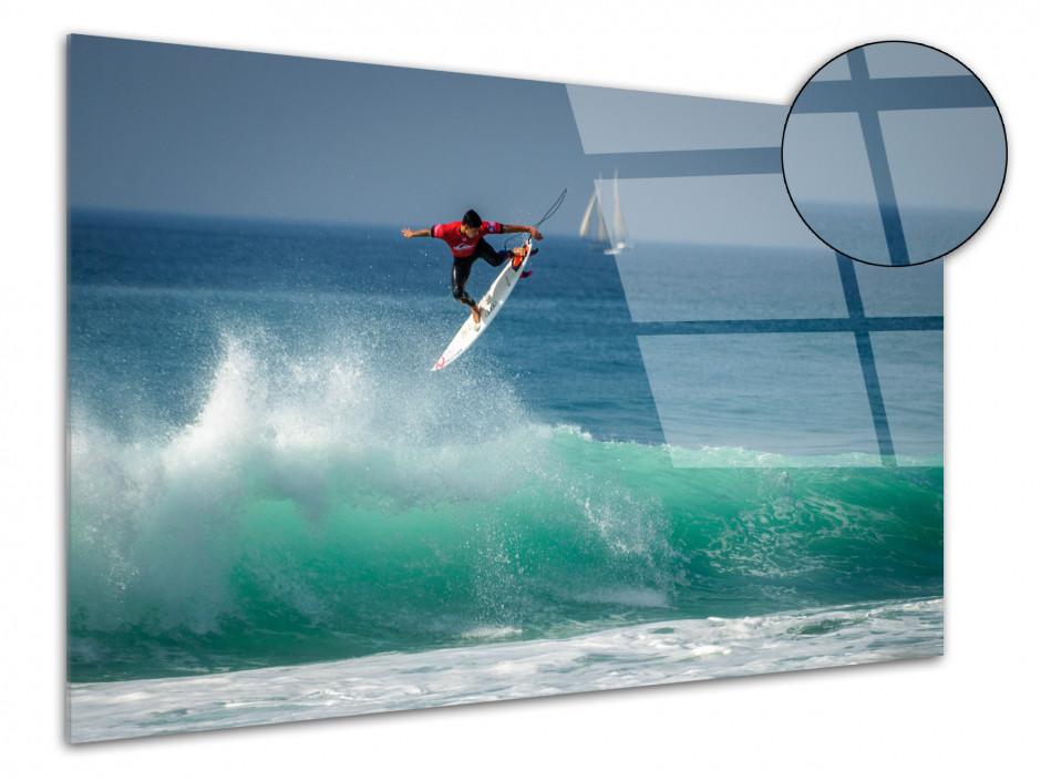 Tableau plexiglas deco SURF DANS LES LANDES