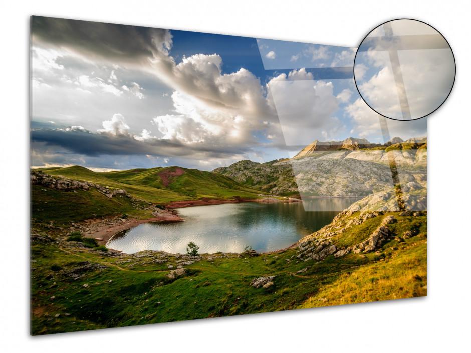 Tableau plexiglas photo LAC D'ESTAENS