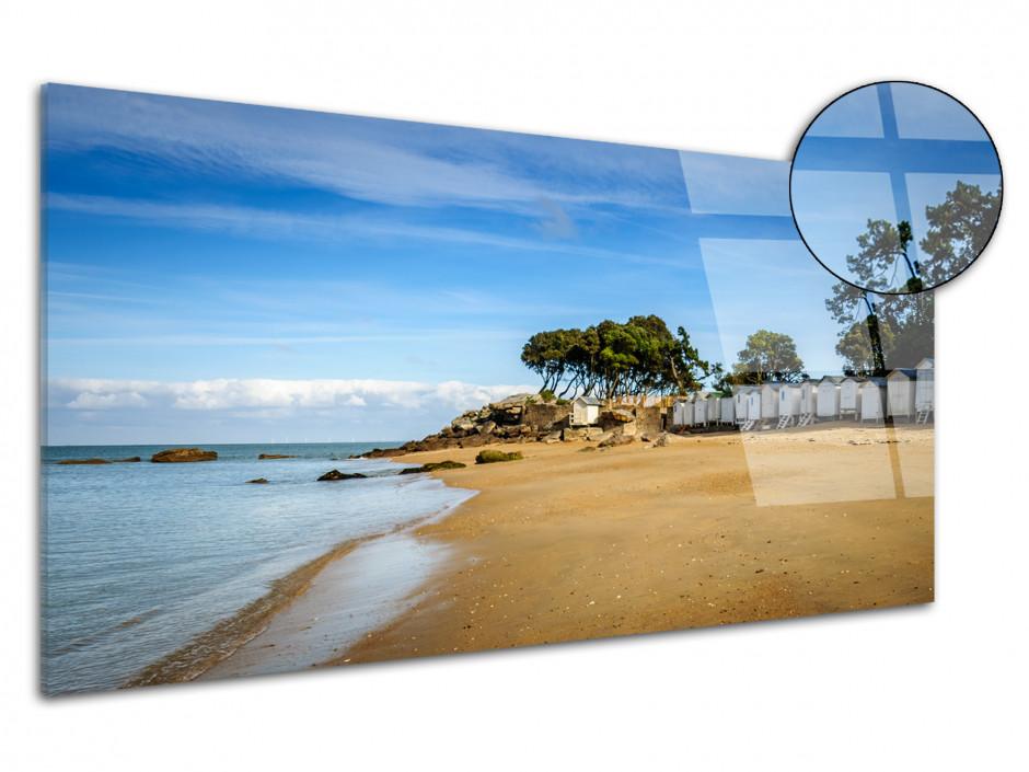 Tableau plexiglas panorama PLAGE DES DAMES