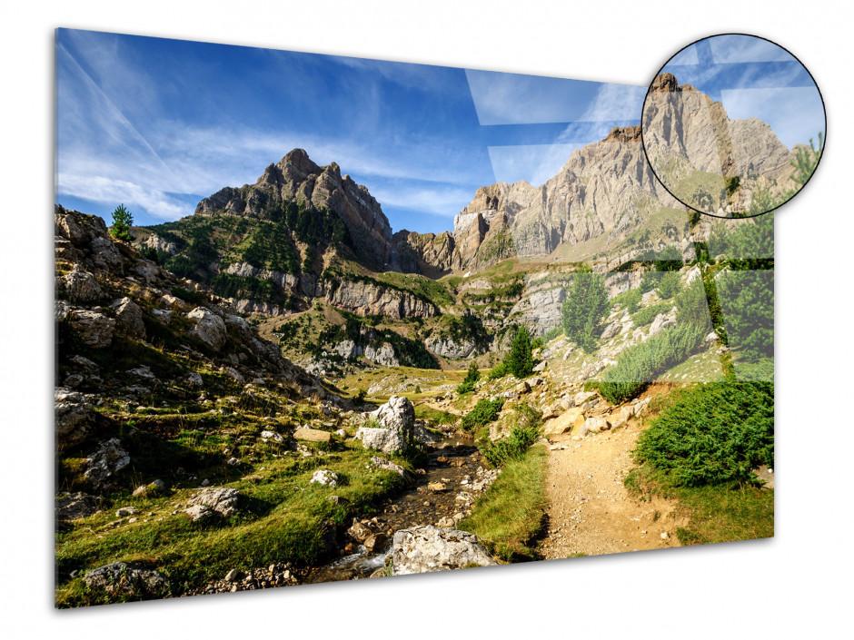 Tableau plexiglas paysage Peña Telera