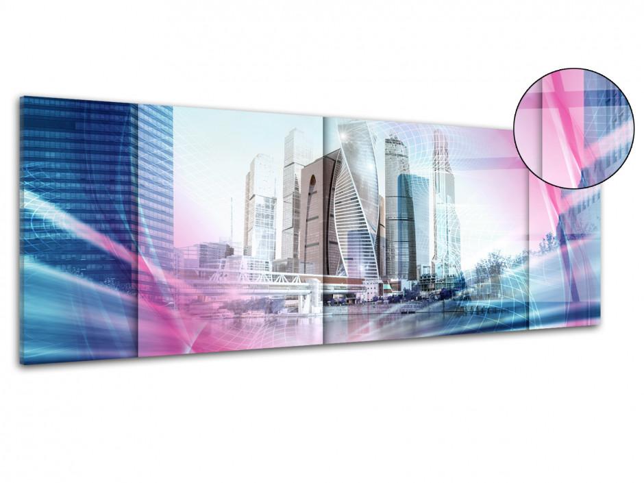 Tableau plexiglas design Grafic Bulding