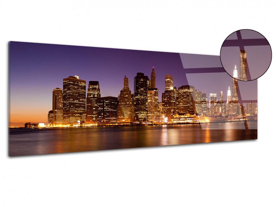 Tableau plexiglas vue panoramique sur New York