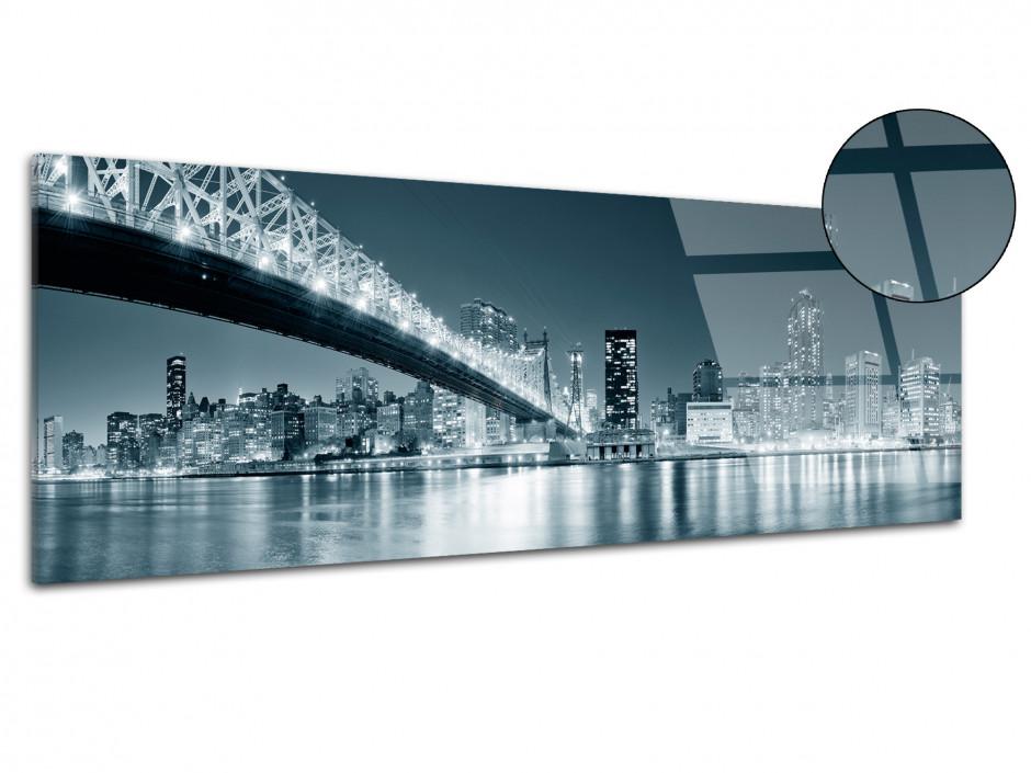 Tableau plexiglas deco panoramique sur New York
