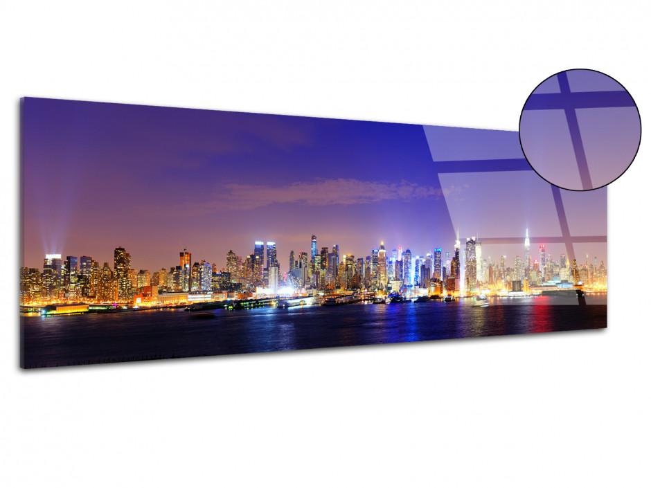 Tableau plexiglas deco panoramique Manhattan