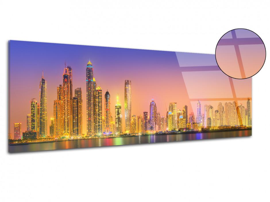 Tableau plexiglas déco panoramique Dubai