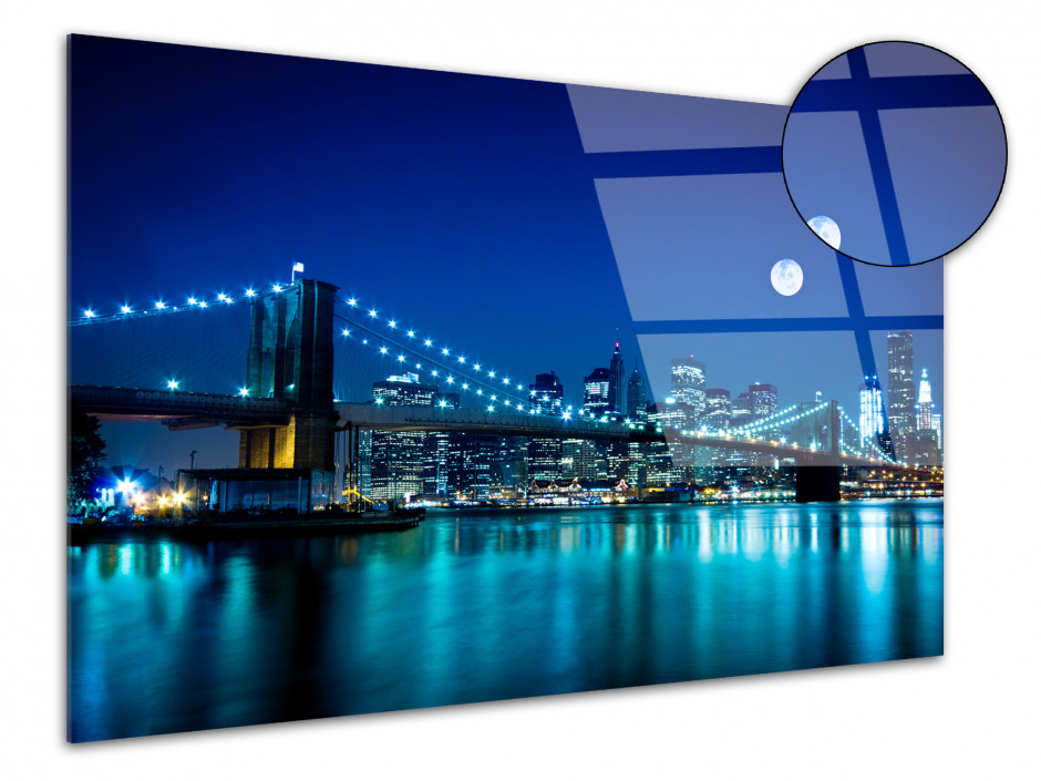 Tableau plexiglas déco Pont de Brooklyn