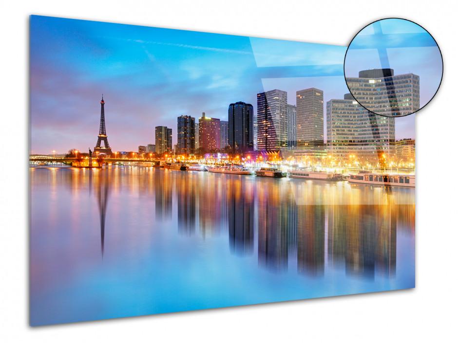 Tableau plexiglas deco Paris de Nuit