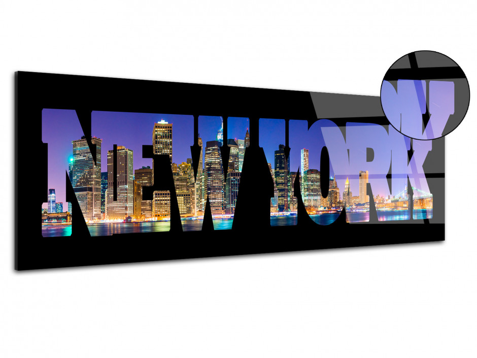 Tableau plexiglas deco Gratte-Ciel New York