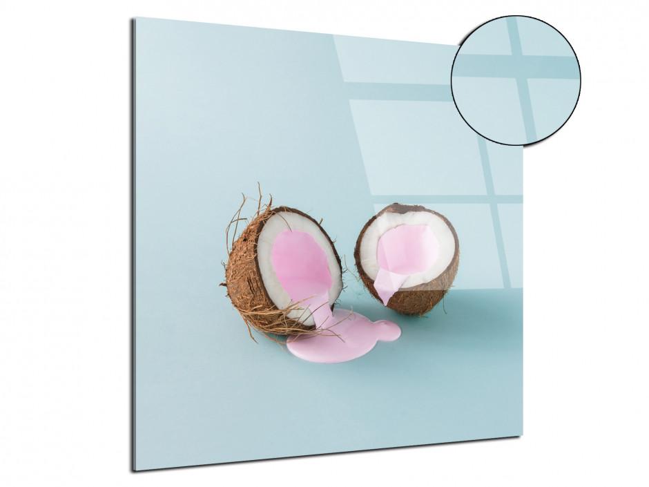 Tableau plexiglas déco vintage Lait de Coco
