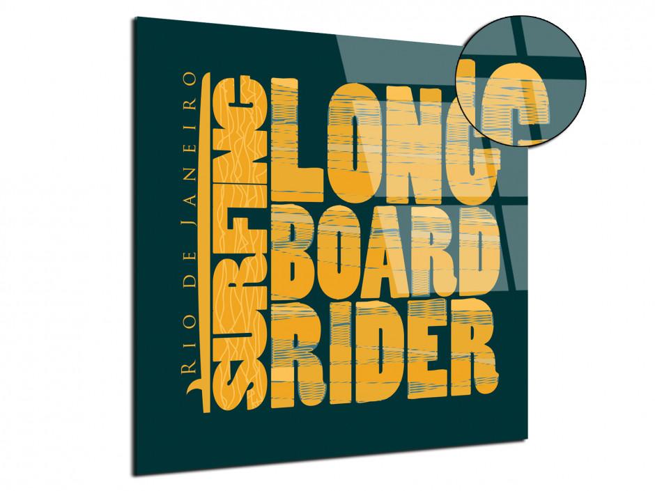 Tableau plexiglas deco vintage Surfing