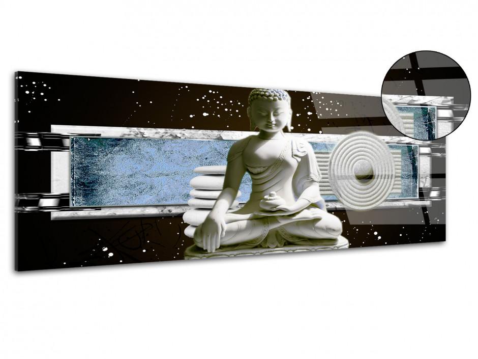 Tableau plexiglas zen décoration STATUE BOUDDHA