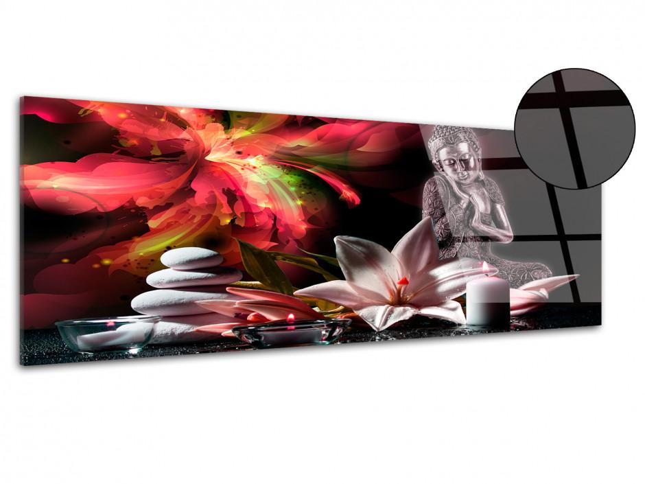 Tableau plexiglas décoration zen SÉRÉNITÉ