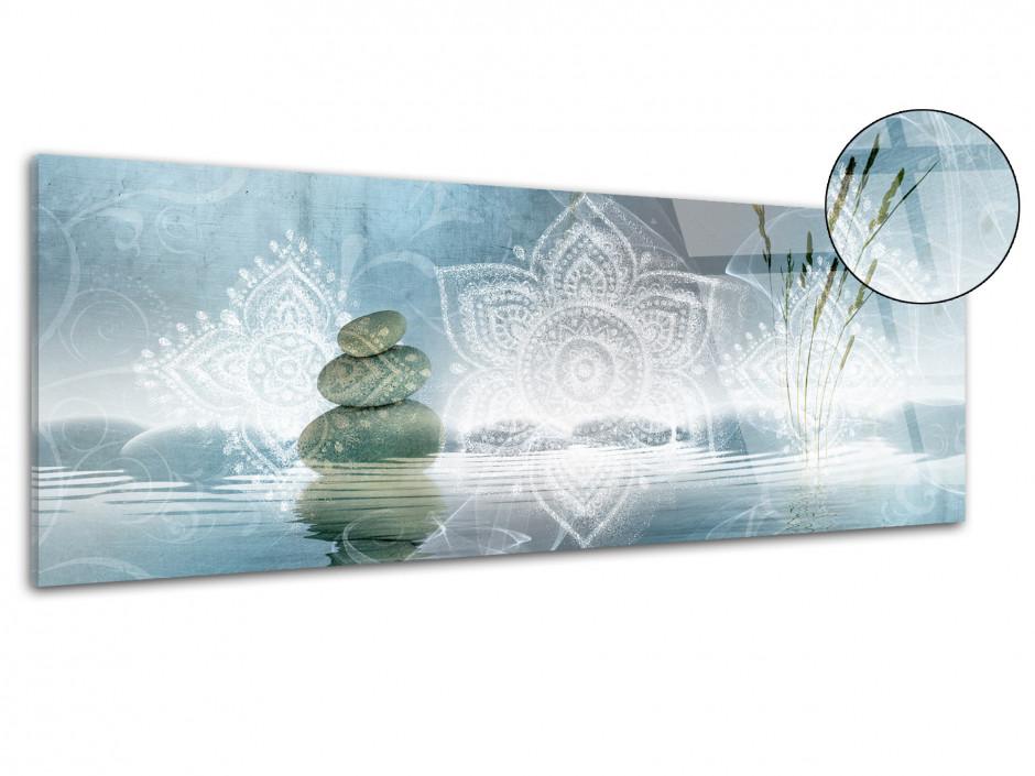 Tableau plexiglas panoramique zen DÉTENTE