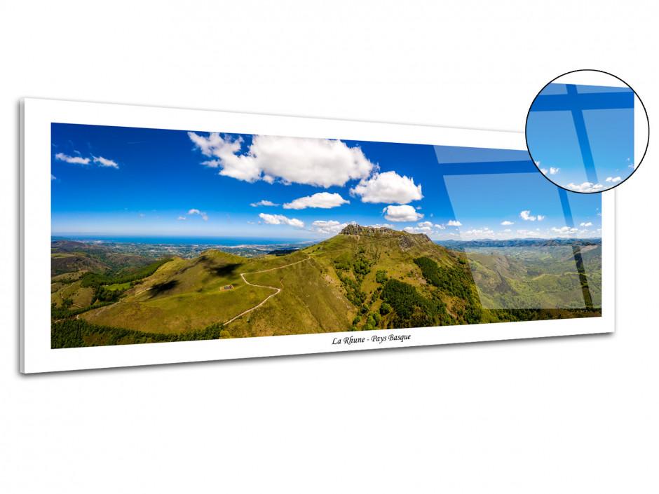 Tableau plexiglas déco paysage panoramique La Rhune
