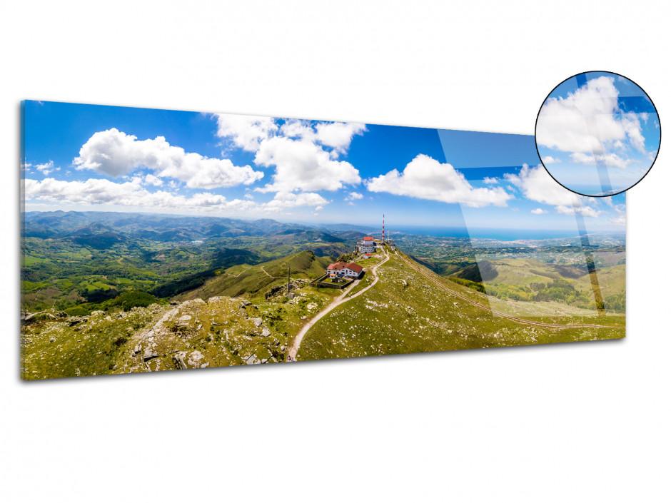Tableau plexiglas panoramique La Rhune Pays Basque