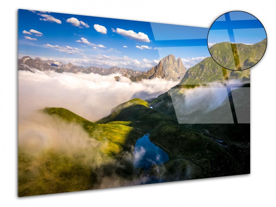 Tableau plexiglas déco le Pic du midi d'Ossau