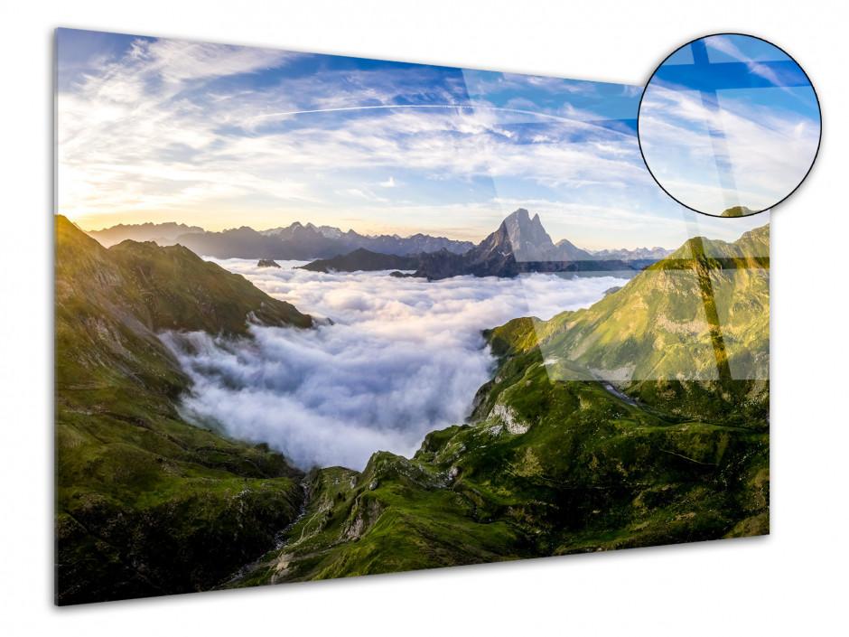 Tableau plexiglas photo Vallée d'Ossau