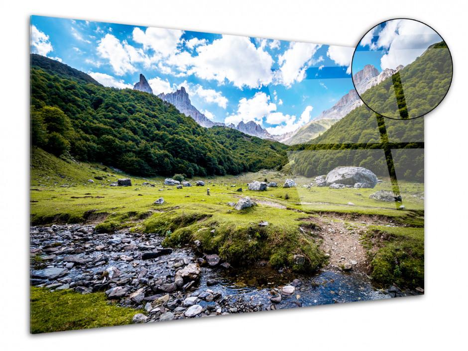 Tableau plexiglas photo Plateau d'Ansabère