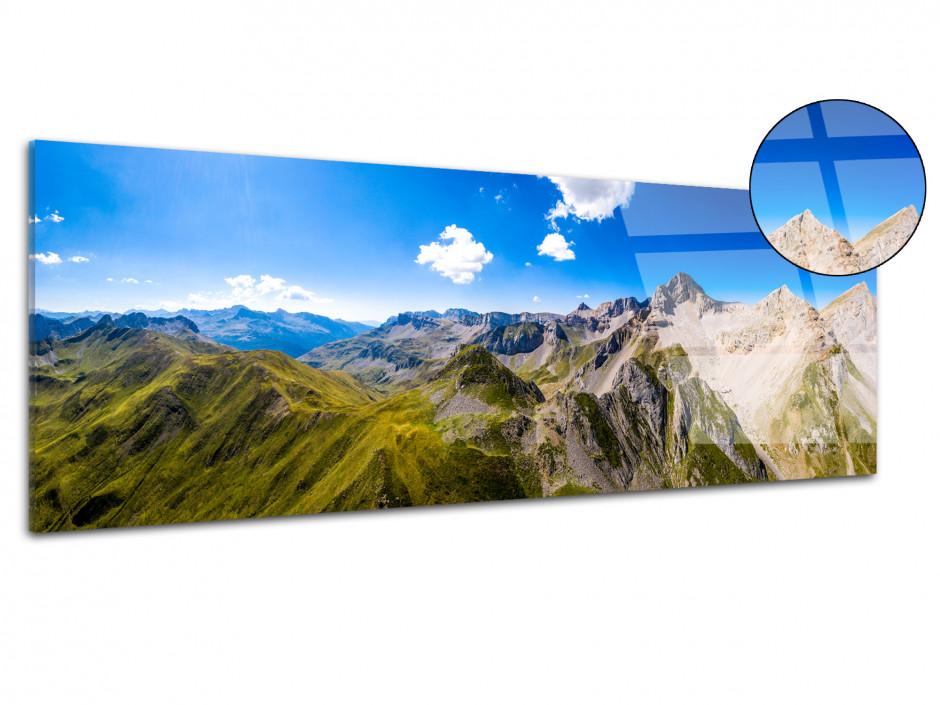 Tableau plexiglas panorama Pena Forca et Mallo de Acherito
