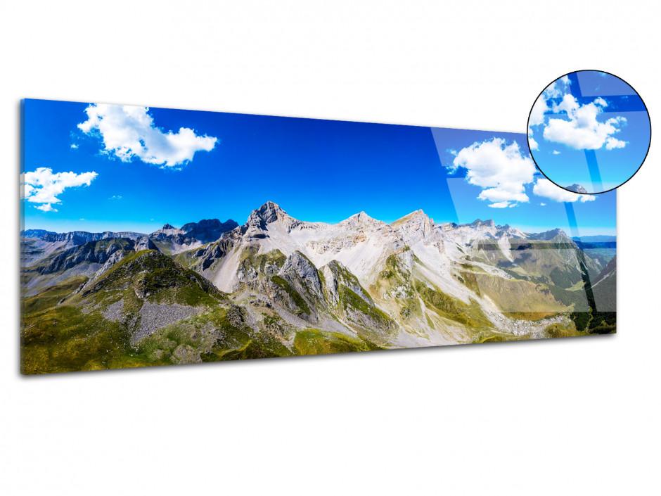 Tableau plexiglas panorama Pic d'Ansabère