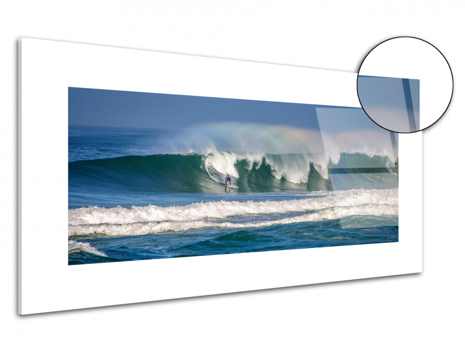 Tableau plexiglas surf La Gravière Hossegor