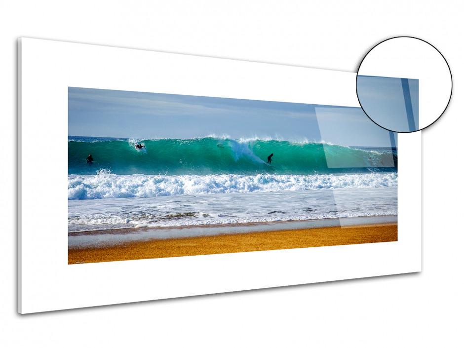 Tableau plexiglas déco Surf La Nord Hossegor
