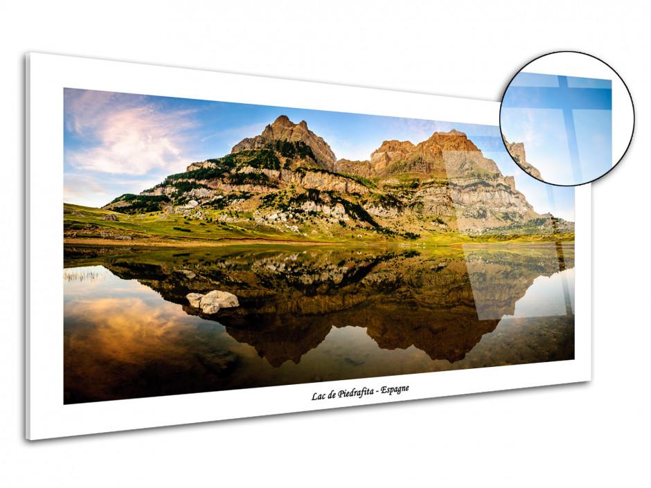 Tableau photo sur plexiglas Lac de Piedrafita