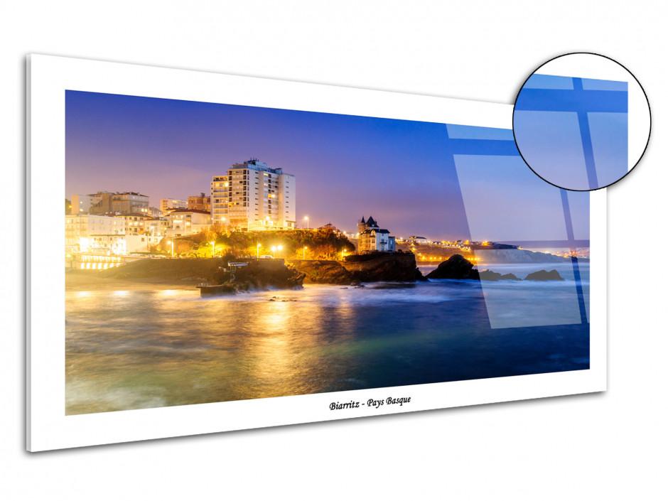 Tableau plexiglas paysage du pays basque Biarritz