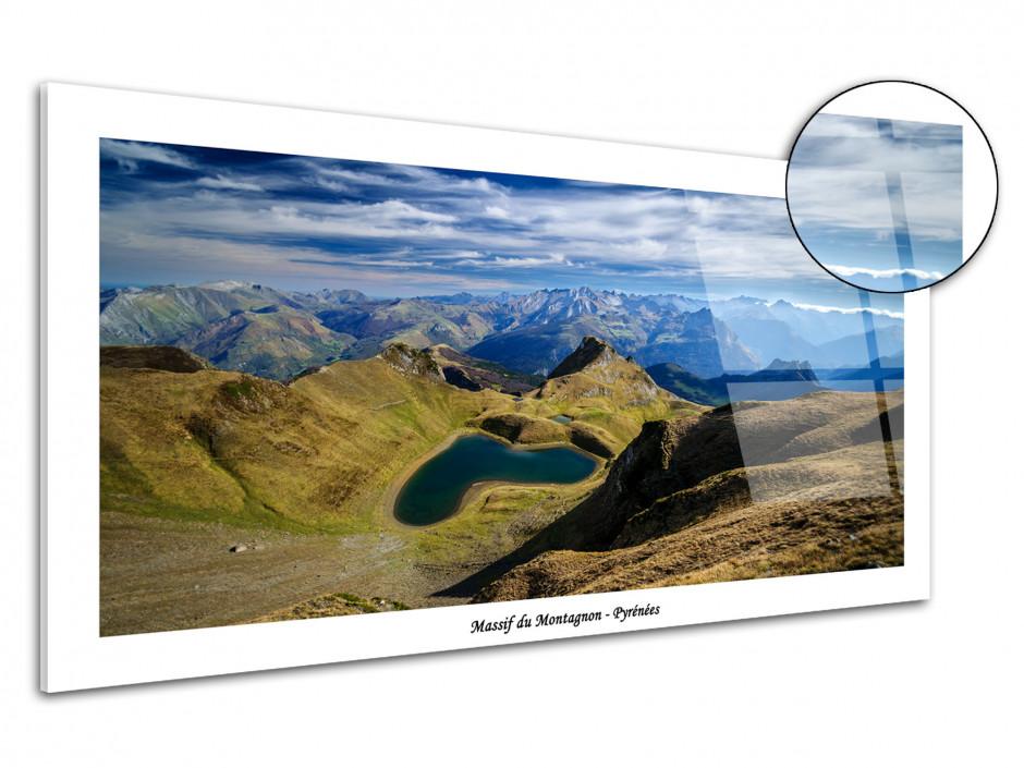 Tableau plexiglas montagne des Pyrénées