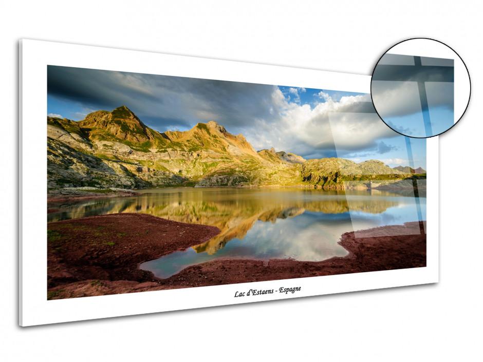 Tableau photo de montagne sur plexiglas Lac d'Estaens