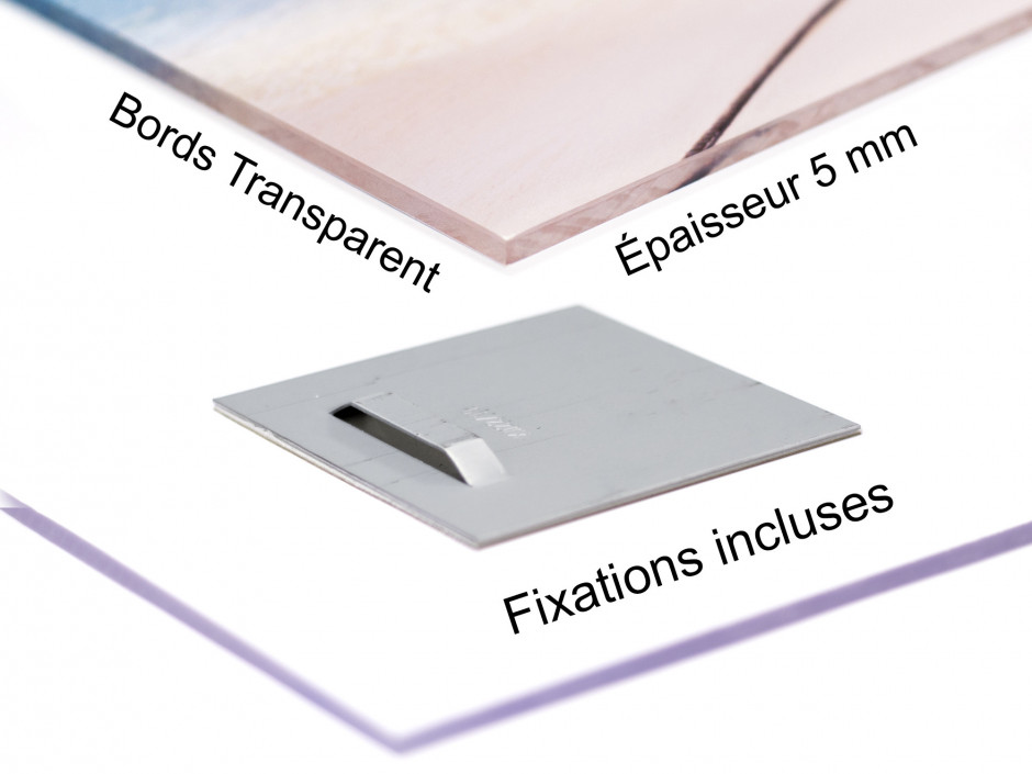 Tableau plexiglas photo des pyrénées LAC DE LHURS