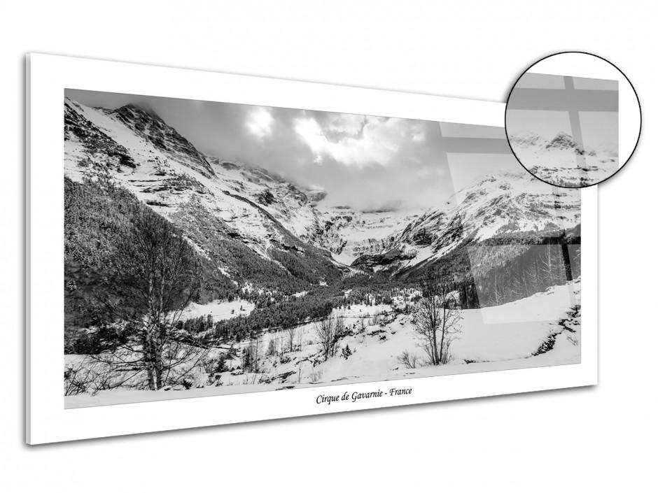 Tableau plexiglas déco paysage de Gavarnie
