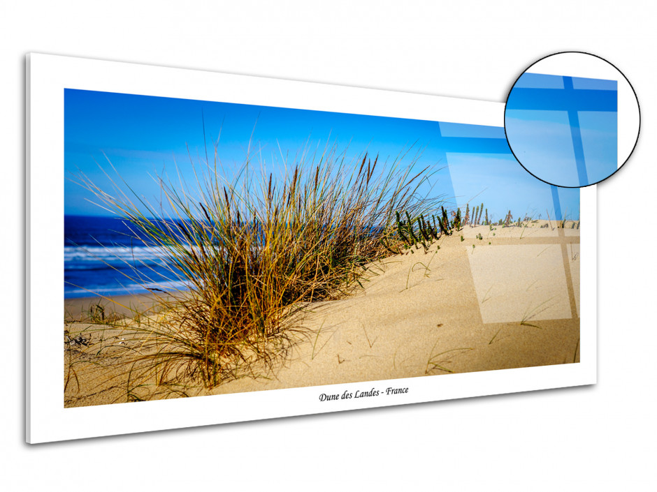 Tableau plexiglas deco Dune des Landes
