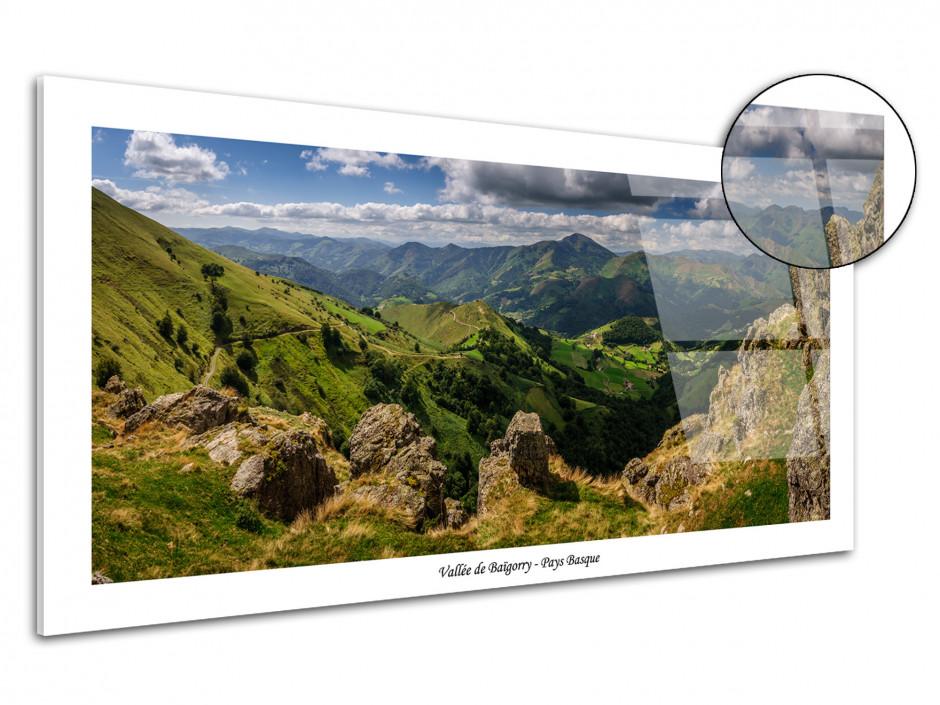 Tableau plexiglas paysages Montagne du Pays basque